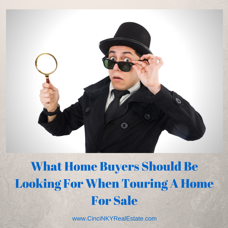 what home buyers should be looking for when touring a home for sale intro picture