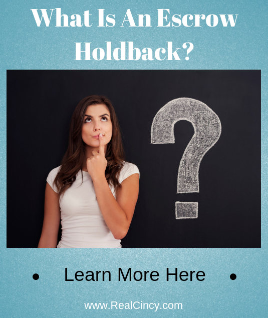 what is an escrow holdback?