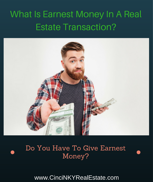 what is earnest money in a real estate transaction