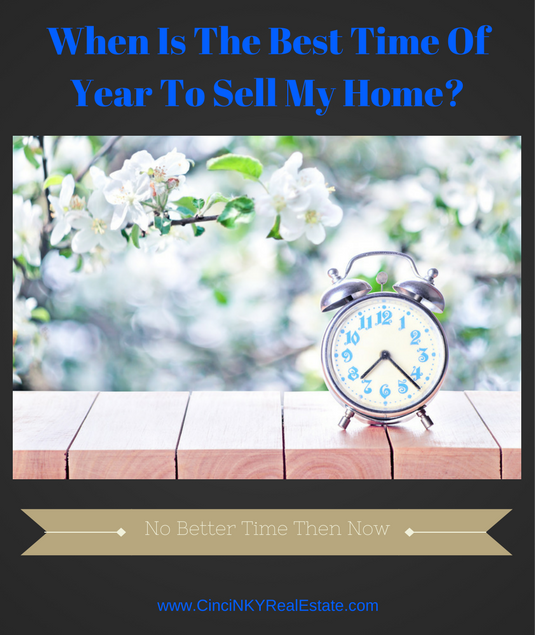 when is the best time of year to sell my home?