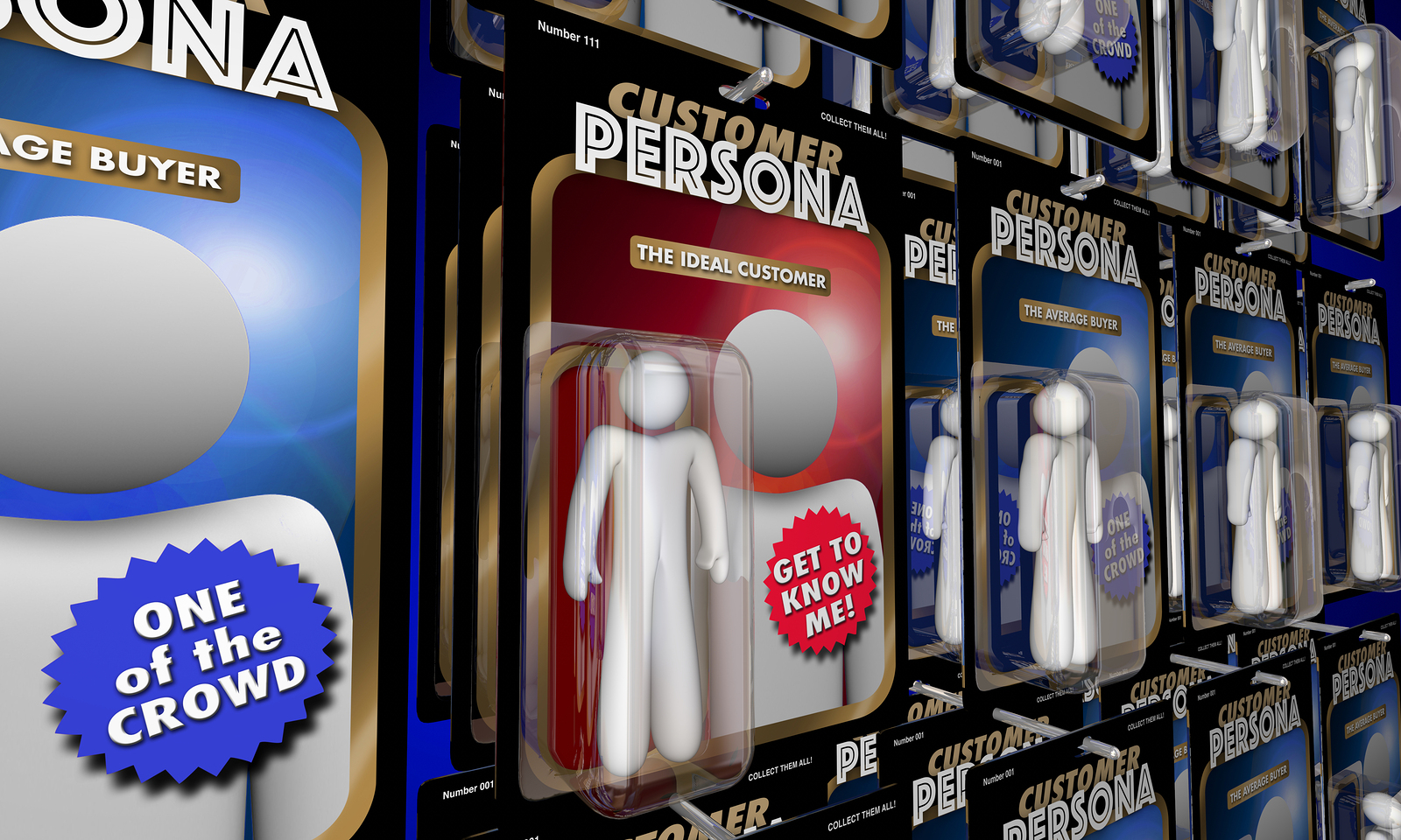 customer personas to figure out
