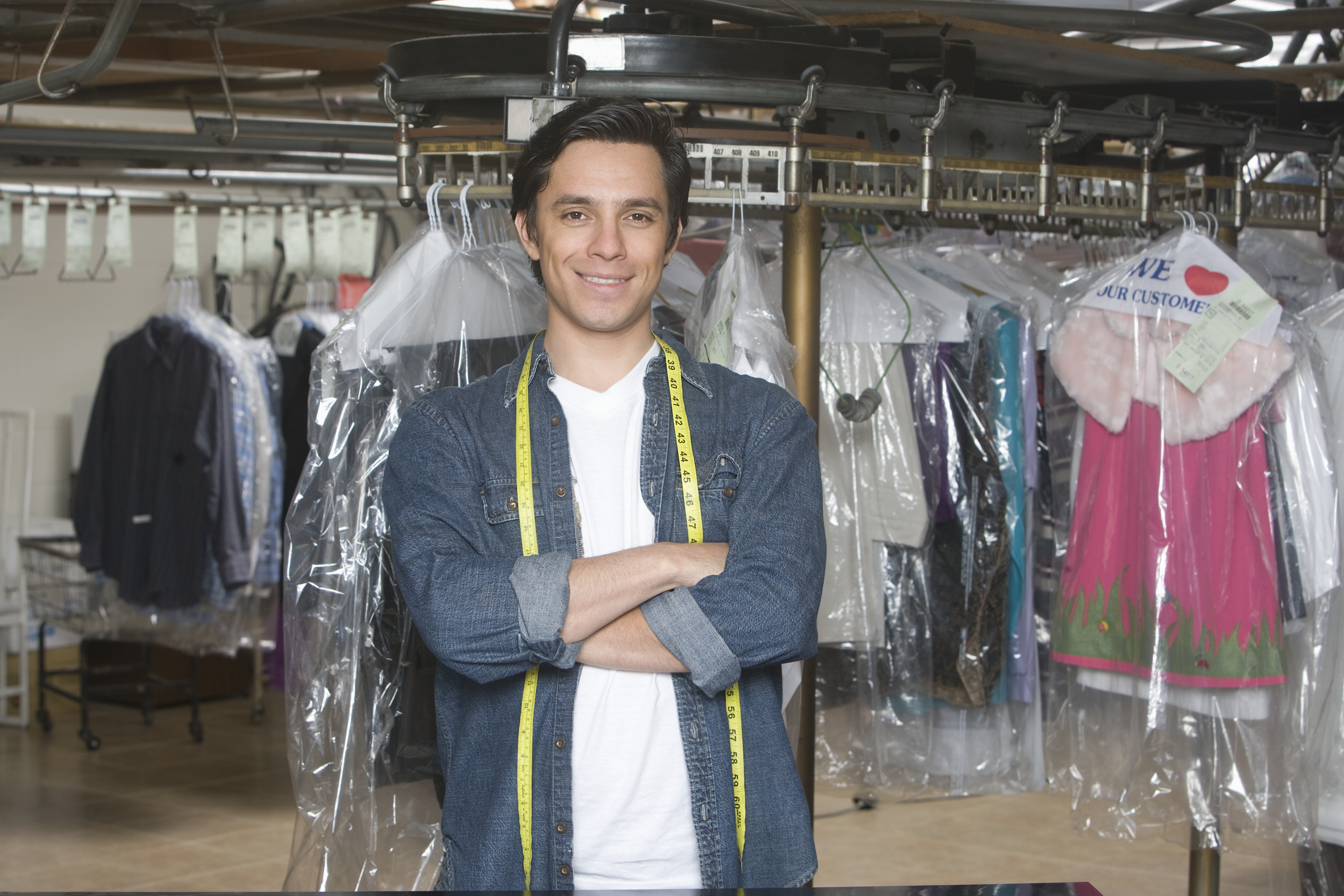 dry cleaner owner who is self employed