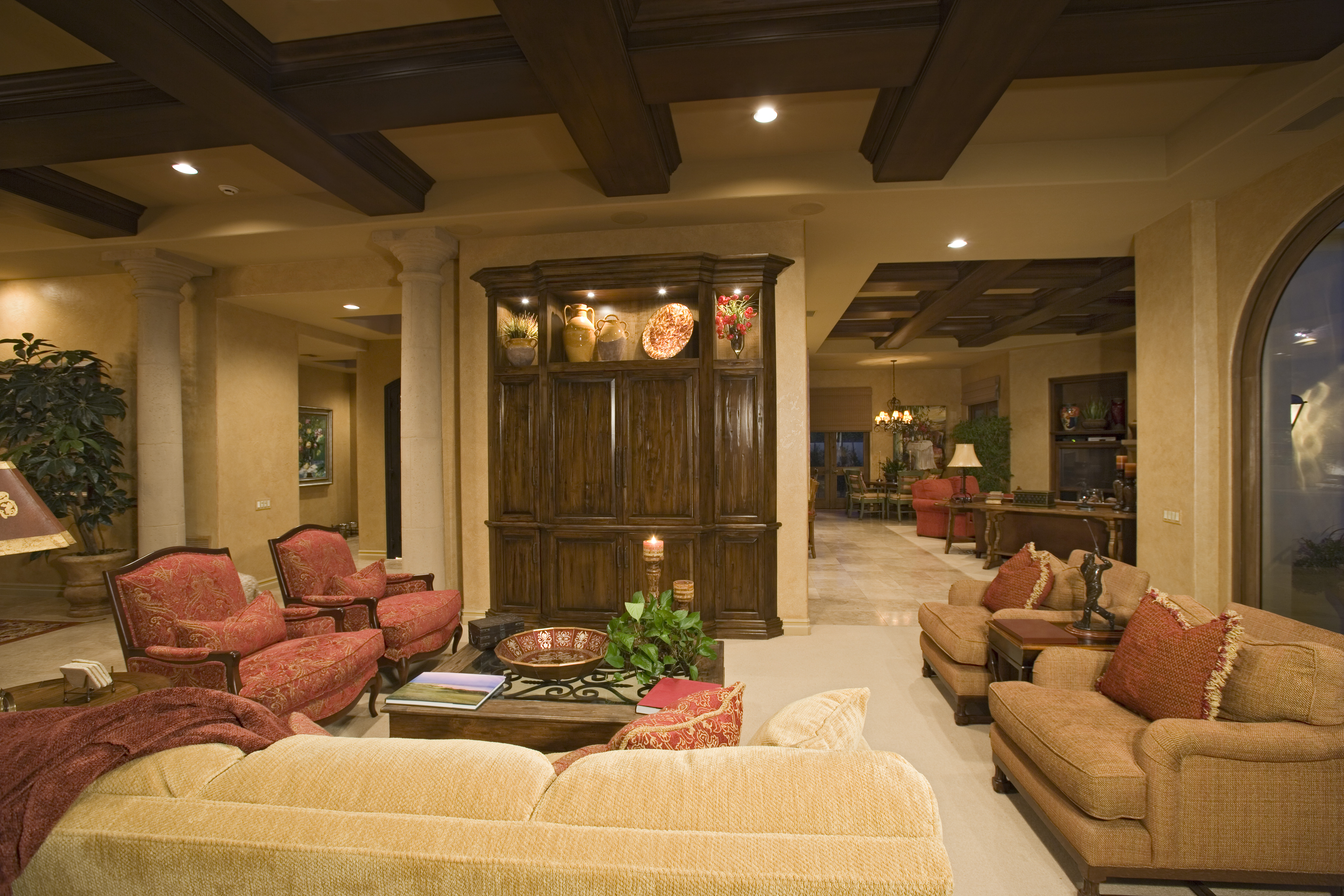 luxury living room with great condition