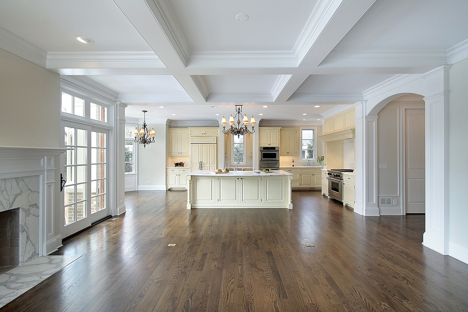 open luxury floor plan