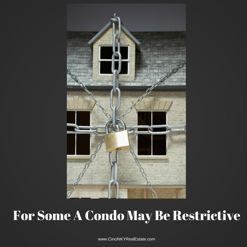 for some a condo may be restrictive picture of condo with lock and chains