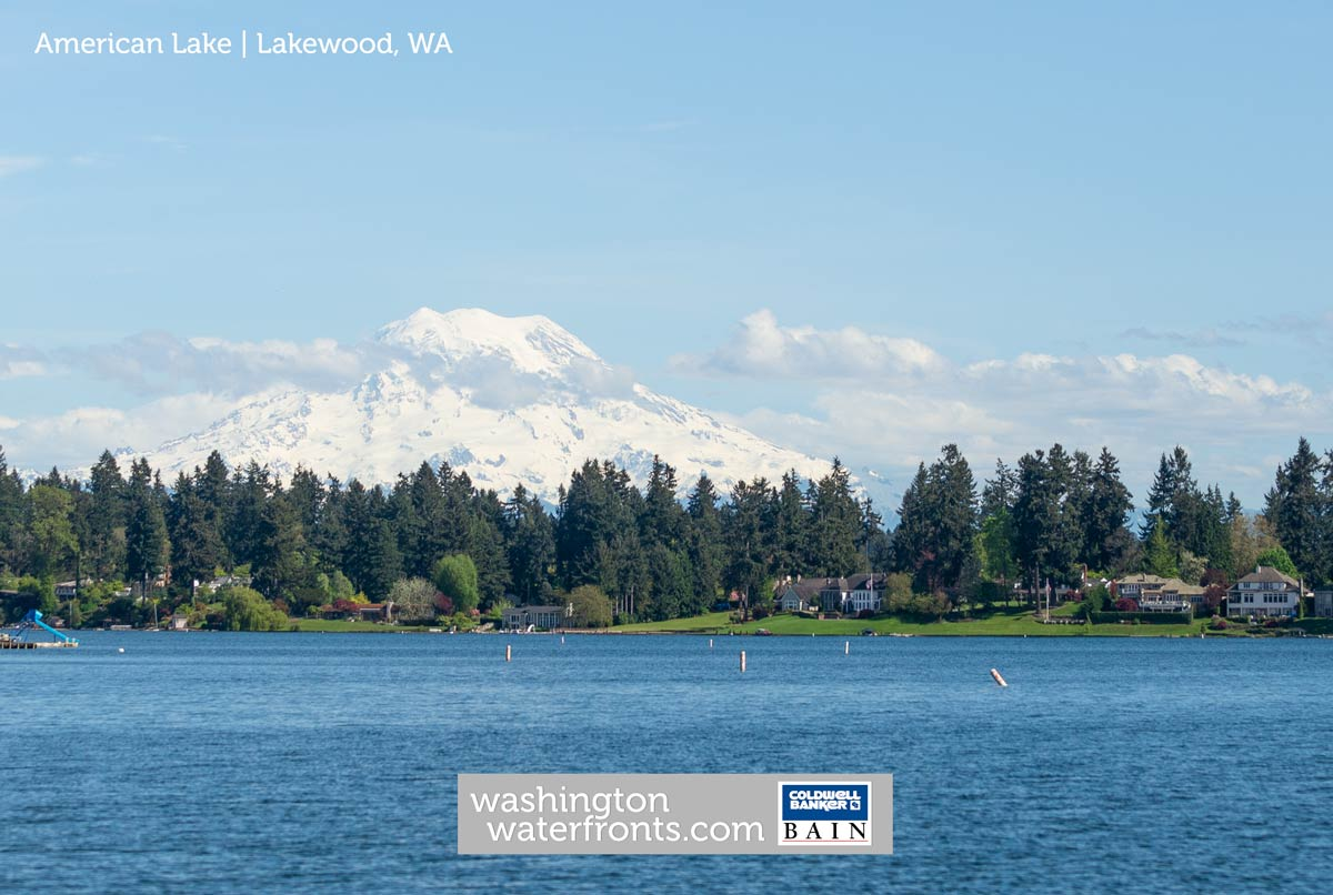 American Lake Waterfront Real Estate in Lakewood, WA