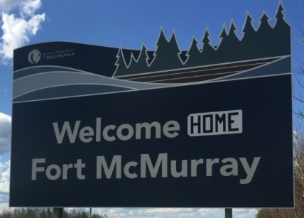 Fort McMurray Real Estate and Homes for Sale - Welcome Sign