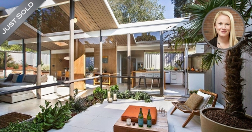 Renee Adelmann set a sales record for Eichler homes in San Rafael.