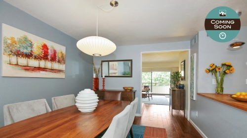 Green Oaks condo for sale in San Rafael. Listed by Marin Modern Real Estate.