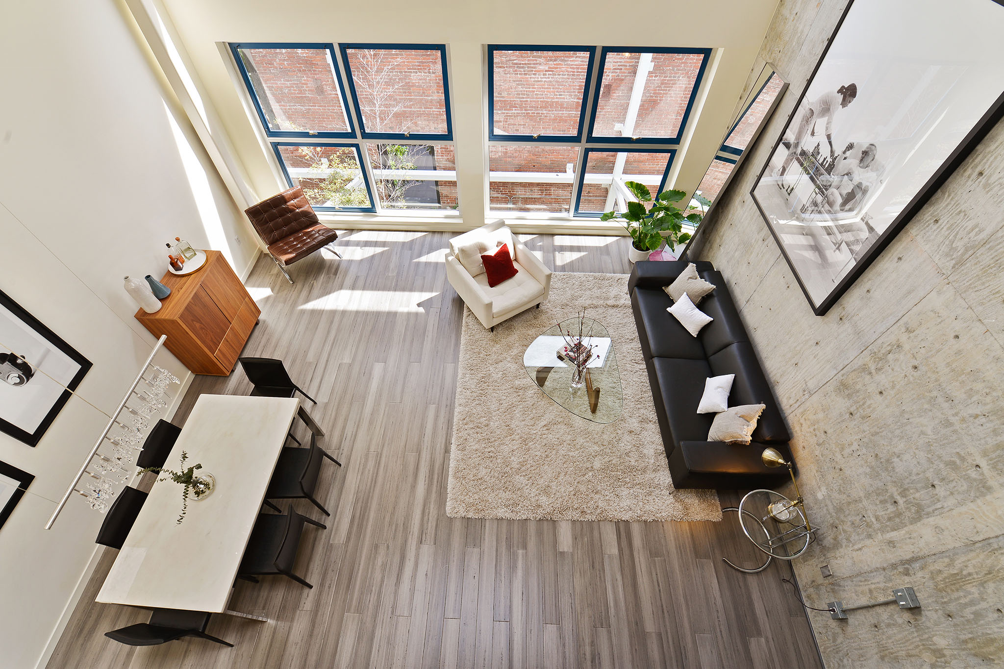 Top view of living space - Oriental Warehouse