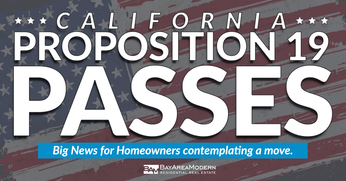 Prop 19 Passes in California - transfer tax base