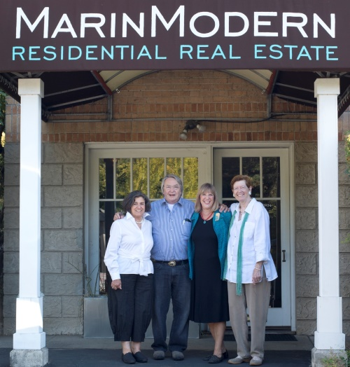 Marchant Chapman Real Esate agents join San Rafael based Marin Modern Real Estate.