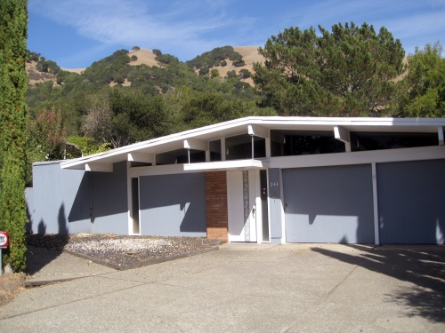 lucas valley eichler home for sale
