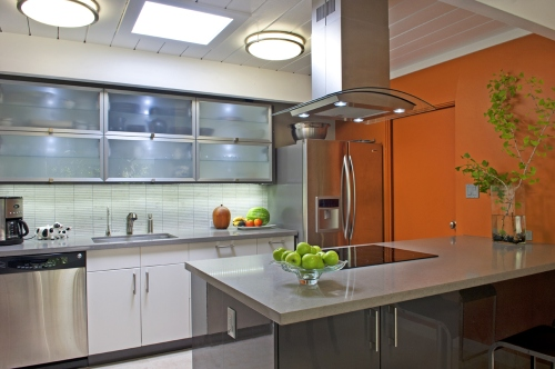 updated eichler kitchen