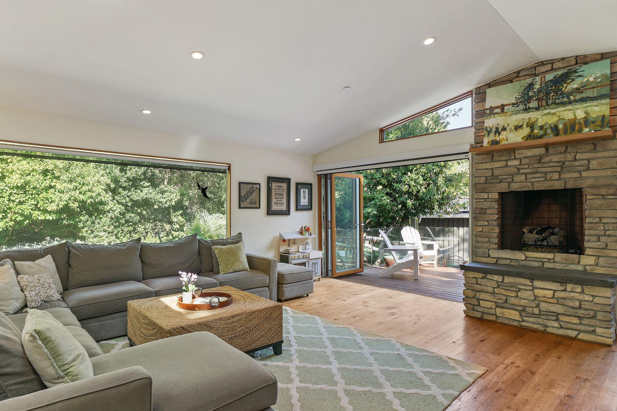 340 Olema Road Fairfax - Great Room