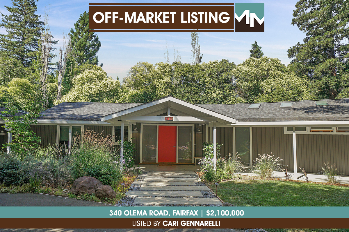340 Olema Road Fairfax - Off Market