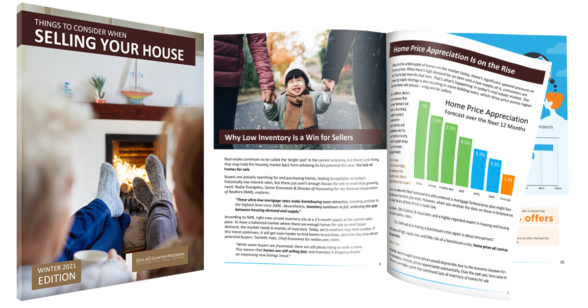 Selling Guide for Gold Country homes