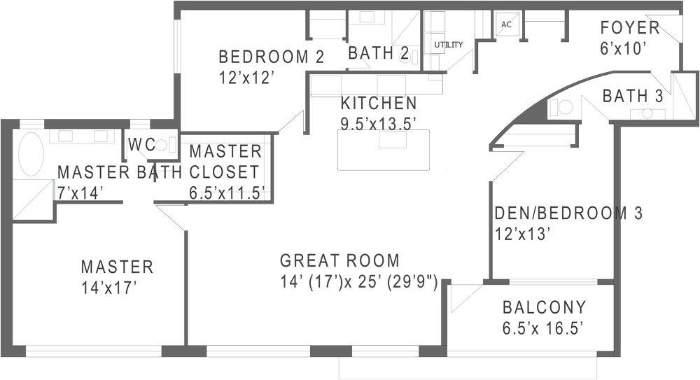 747 North Floorplan A