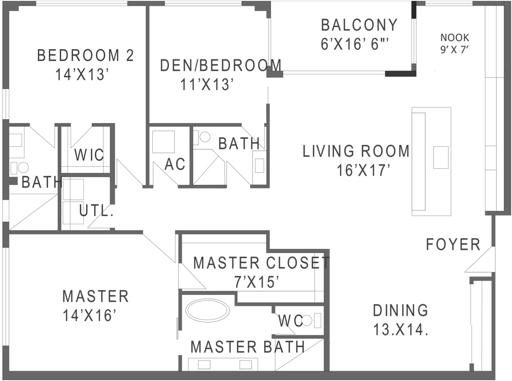747 North Floorplan B