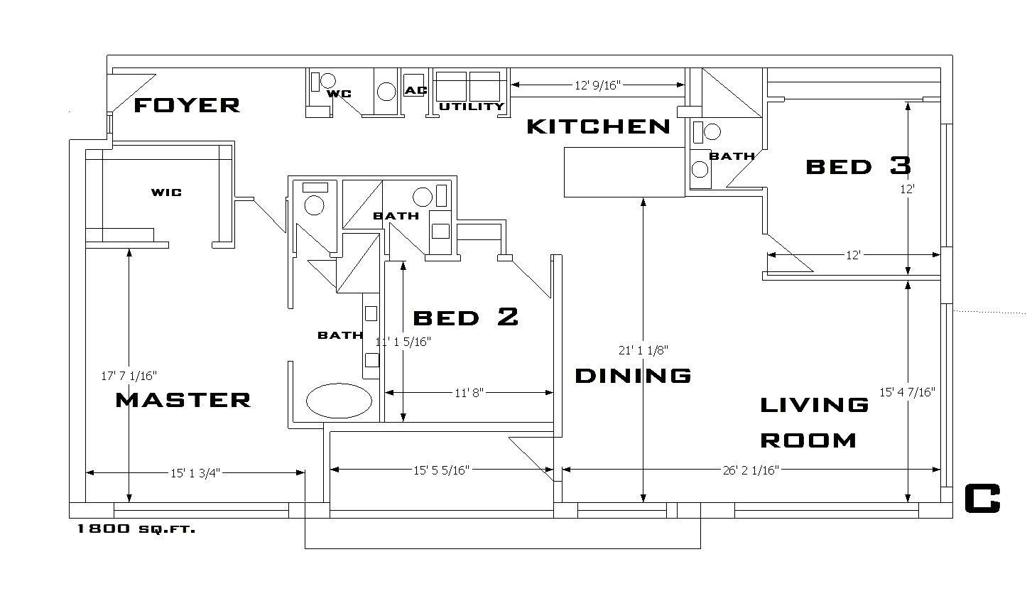 747 North Floorplan C