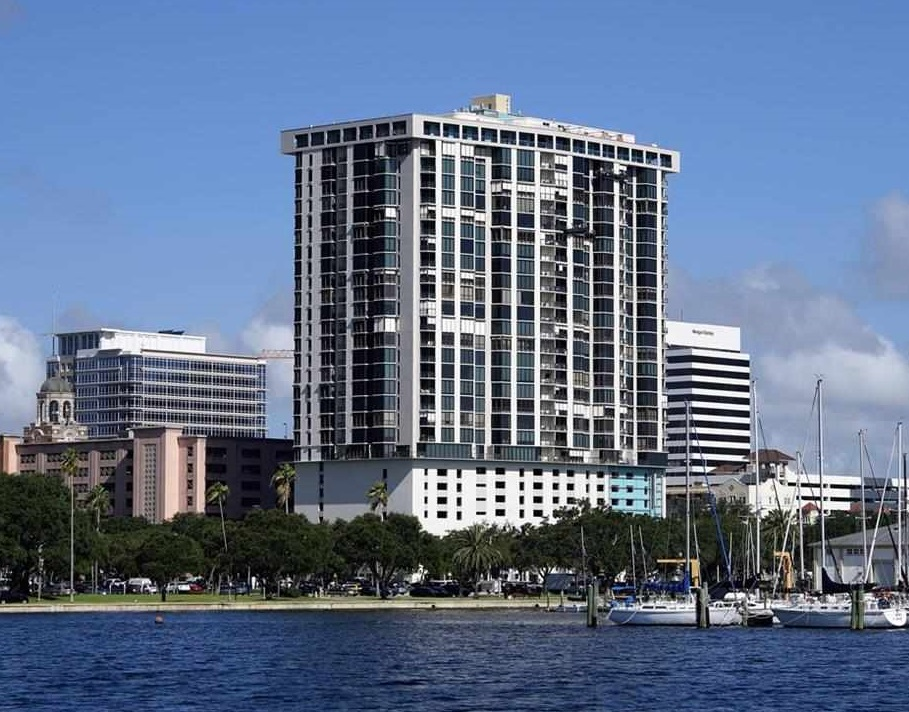 Bayfront Tower condos St Pete