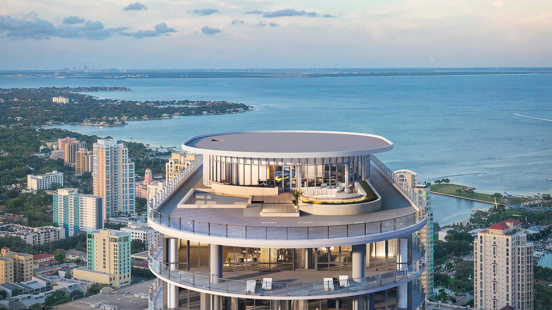 Residences at 400 Central St. Petersburg, FL