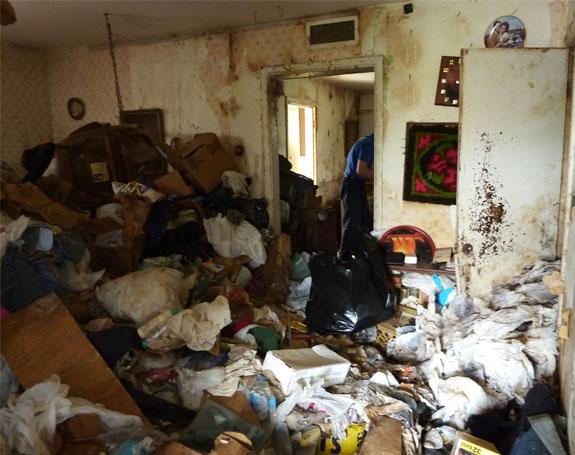 Dirty Florida home