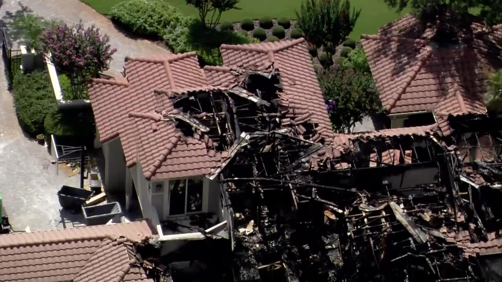 St. Petersburg, FL home burned down