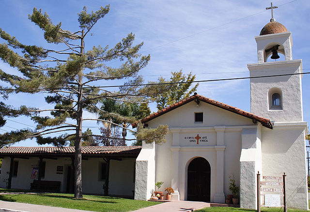 What Is Unique About The Mission In Santa Cruz?