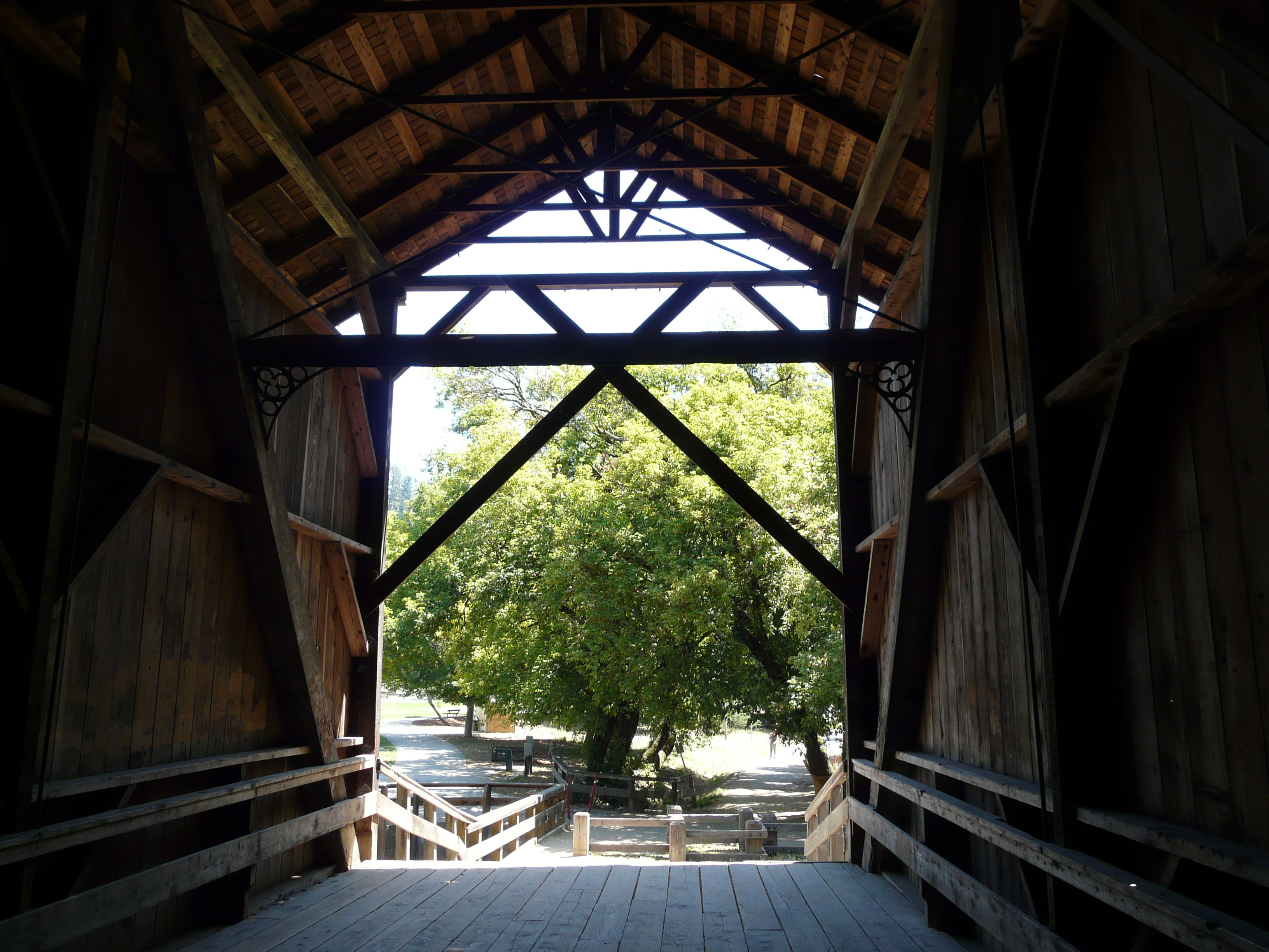 felton covered bridge park