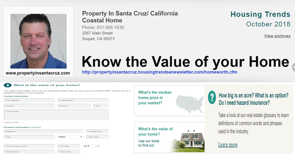 value of your home, sellers guide