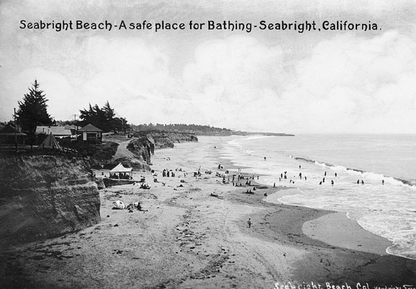 seabright beach from around 1900