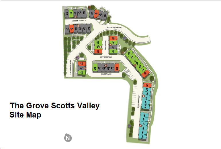 the grove scotts valley site map