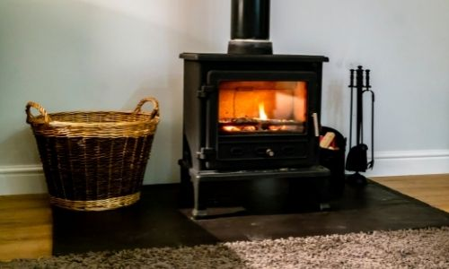 buying a home with a wood-burning fireplace