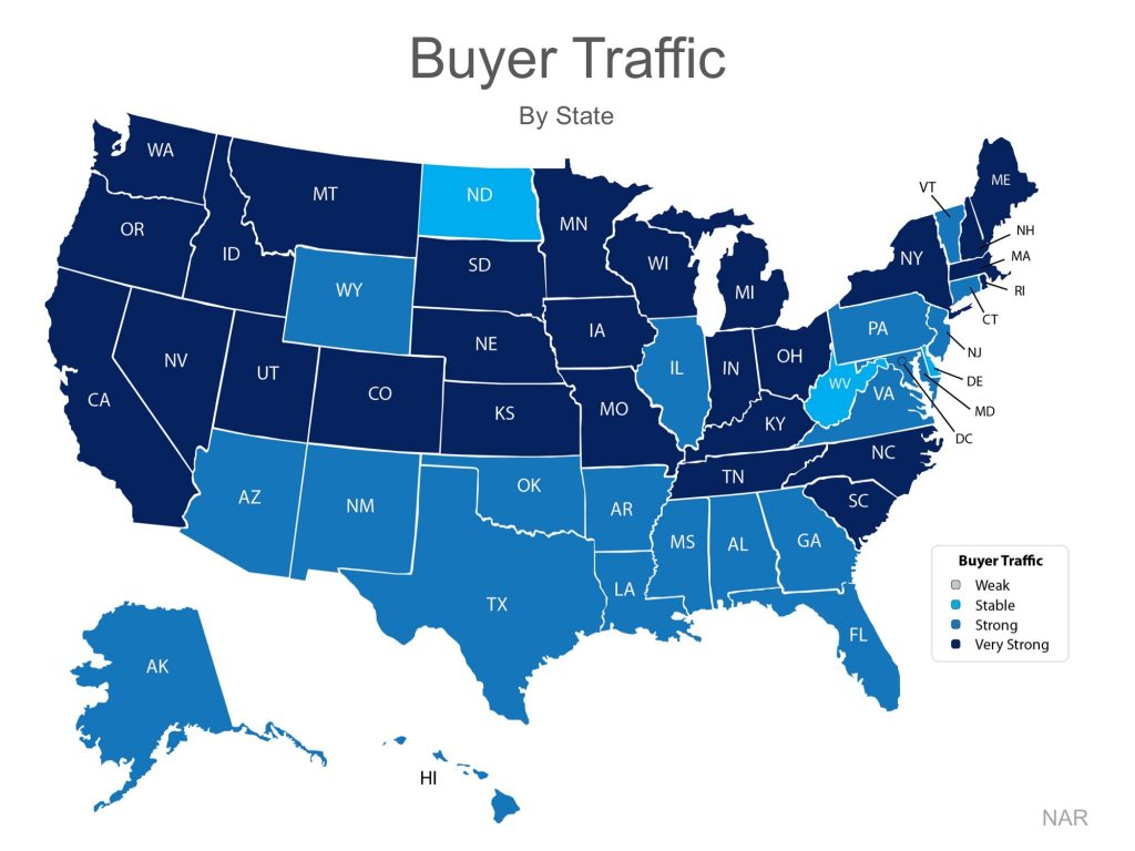 buyer traffic map