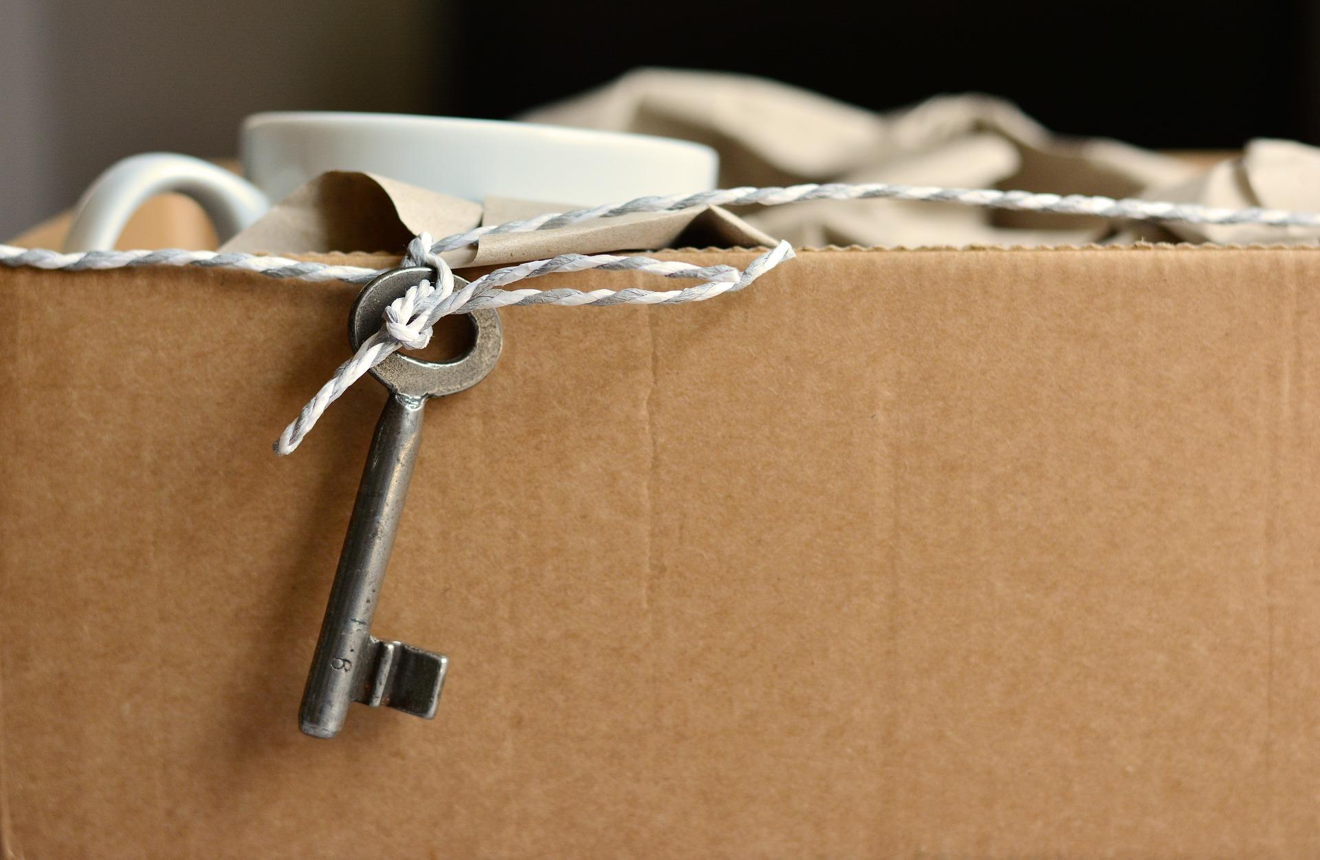 key on box