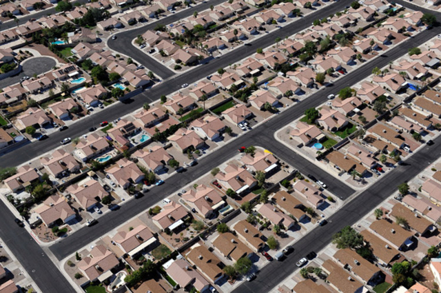An Ariel View of North Las Vegas