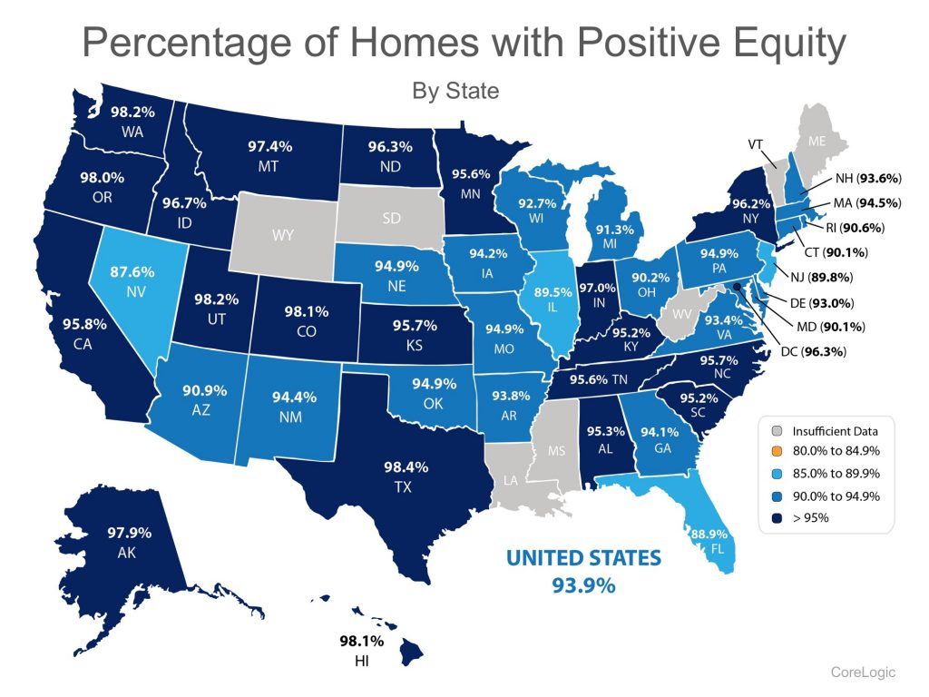 positive equity map