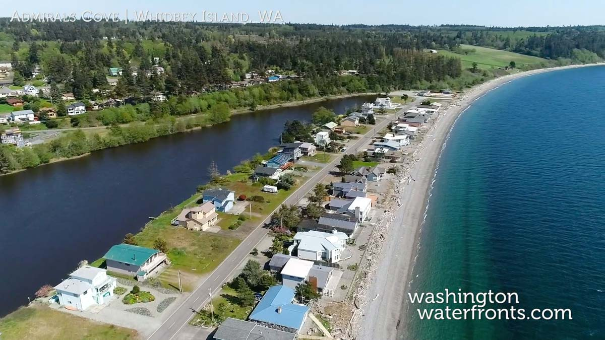 Admirals Cove Waterfront Real Estate in Whidbey Island, WA