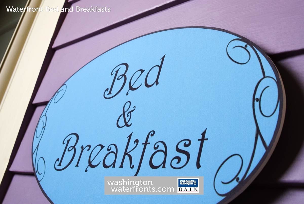 Bed and Breakfast Waterfront in Washington State