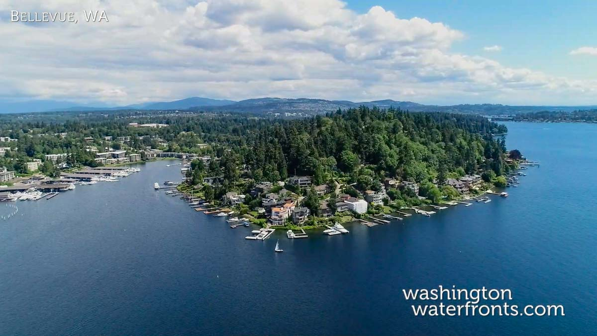 Bellevue Waterfront Real Estate in Bellevue, WA