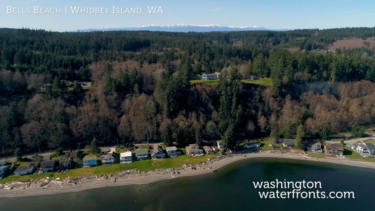 Bells Beach Waterfront Real Estate on Whidbey Island, WA