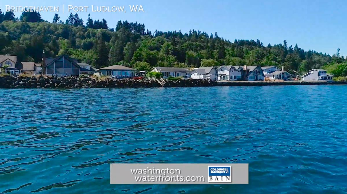 Bridgehaven Waterfront Real Estate in Port Ludlow, WA