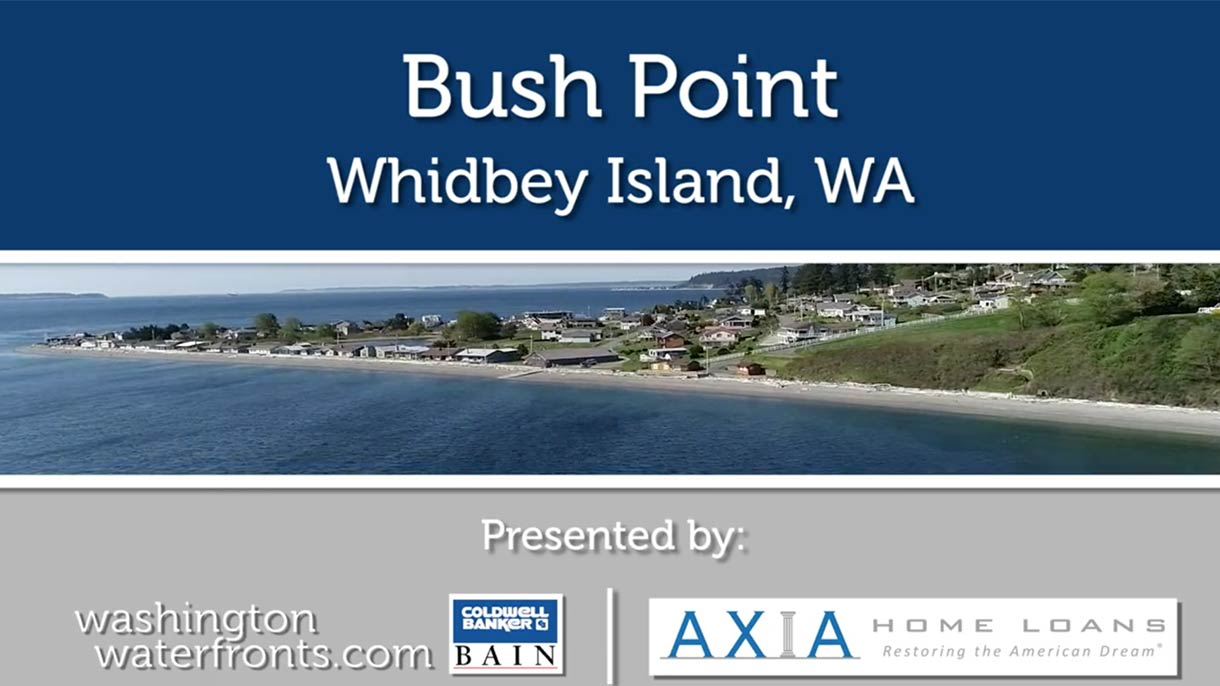 Bush Point Waterfront Real Estate in Whidbey Island, WA