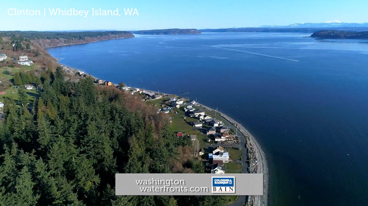 Clinton Waterfront Real Estate in Whidbey Island, WA