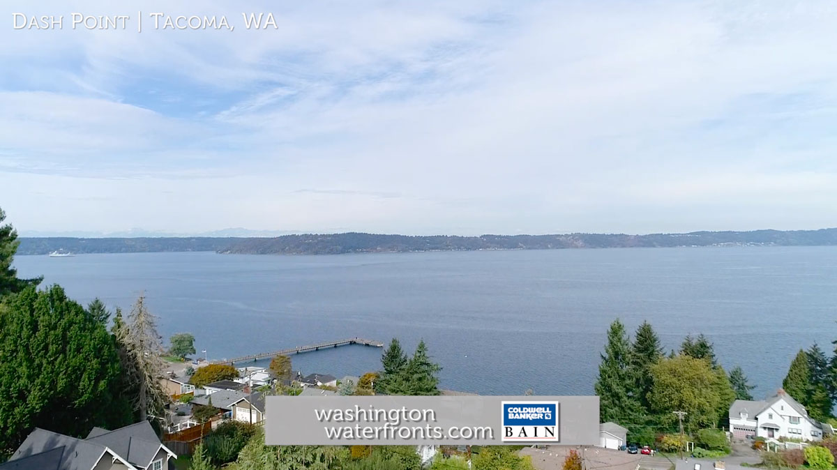 Dash Point Waterfront Homes in Tacoma, WA (Local Waterfront