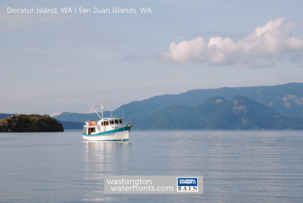 Decatur Island Waterfront Real Estate in San Juan Islands, WA