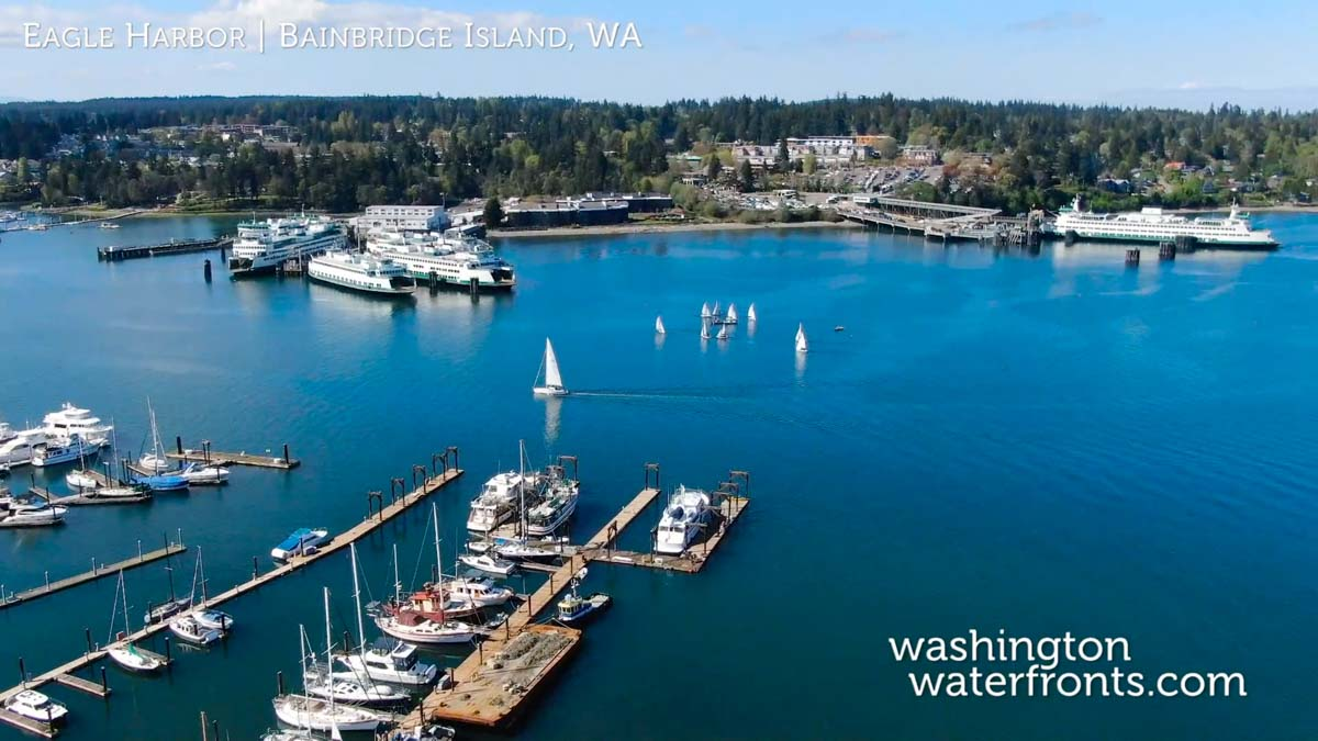 Eagle Harbor Waterfront Real Estate