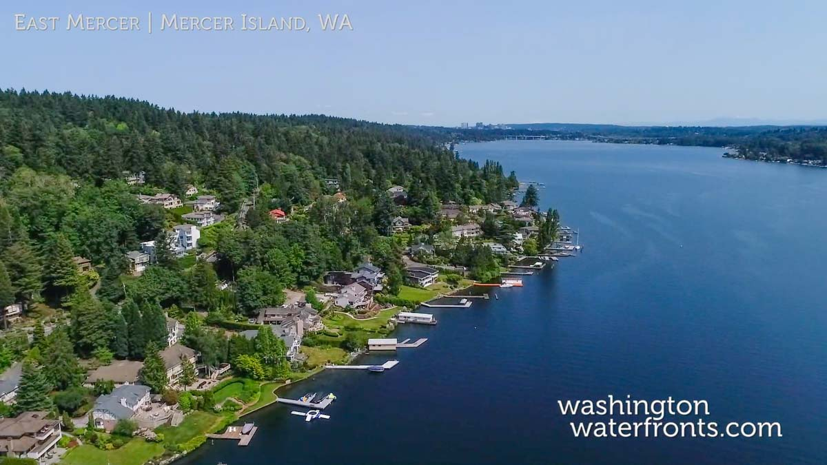 East Mercer Waterfront Real Estate on Mercer Island, WA