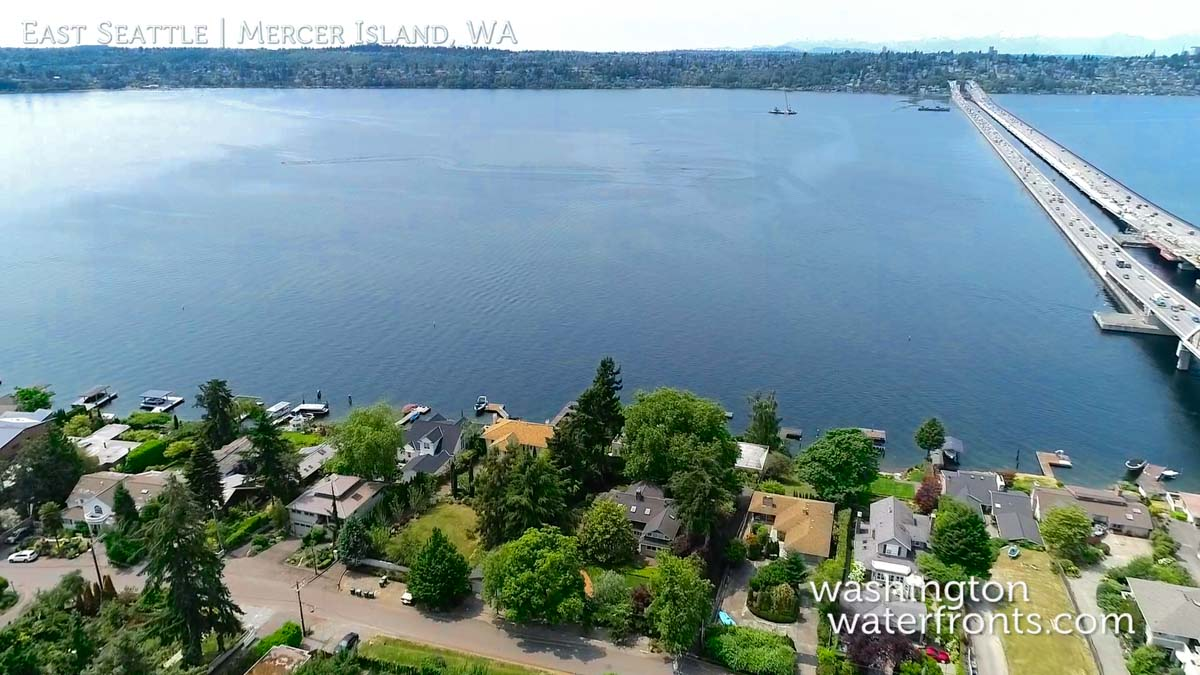 East Seattle Waterfront Real Estate in Mercer Island, WA